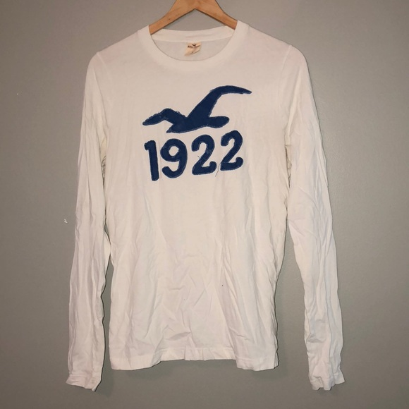 979ec8f9b7 Hollister Shirts & Tops | 1922 White Long Sleeve Perfect Condition ...